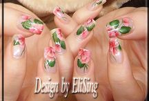 Nail art by Elising / by Mystic Nails