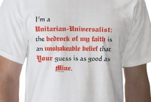My Faith... / I am a Unitarian Universalist. My faith is difficult to pin down (see what I did there?) / by Allegra Knight