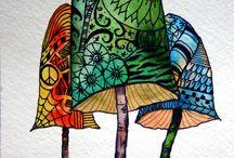 Mushrooms / by Adam Kō Shin Tebbe