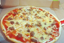 merienda time / pizza / by Meiyan Kuch