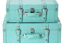 Vintage suitcases / by Meesh