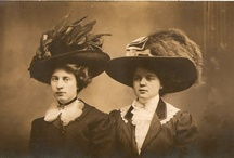 Life in the 1900s / Inspiration board with images from Edwardian England and Belle Epoque France and Germany and the Gilded Age in the US. / by Rare Paper