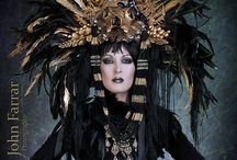 costume, headdress, bellydance, performance / by Riannon Bacon