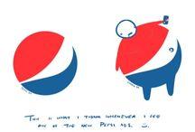 Logos détournés / Fake logos / by Valérie WINTZ