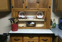 Hoosier Cabinet / I love my Hoosier! I got it at a garage sale. Any information that you may have? / by Shiela Taylor