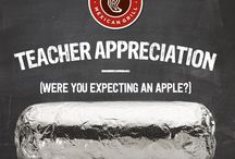 teacher.appreciation / Some of the best campaigns around celebrating teachers for Teacher Appreciation Month. / by Elana Leoni