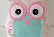 Craft owl and sewing / by Wilma Bague