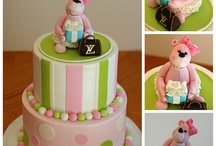 Girl Baby Showers / by Dreme Cake Artistry