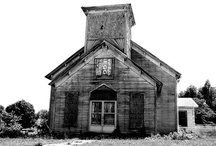 Abandoned / Old buildings that no longer serve any purpose Towns that have been abandoned / by Teresa Bernard