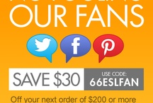Coupons / We love providing coupons for our fans! Enjoy! / by Euro Style Lighting