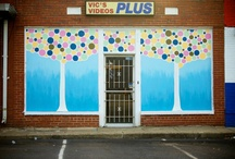 murals, inside and out / by Jeanine Guidry