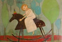 Art: Leslie Barron / Oh my gosh! I love Ms. Barron's work. It really speaks to me... / by Christi