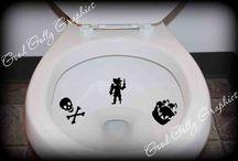 Pirate bathroom / by Jenny Kenny
