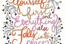 Love self / by Stephanie Goodgyrl