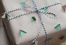 wrapping / by Anna Peters