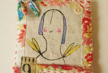 Hand stitched / by Sherieen Seagreen