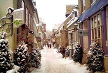 Quebec City...Paris in Canada / by Rose Bland