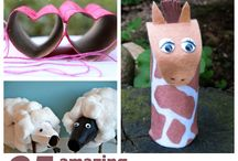 Kids Crafts / Crafts and fun for the kids / by Allie Motley