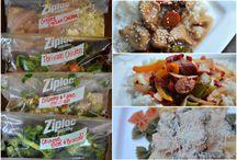 Crockpot freezer meals!! / by Laura Brown Register