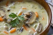 Soups / by Kallie Petroff