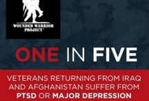 Helping Vets with PTSD  / What worse than transitioning from the battlefields of Iraq and Afghanistan to an economy, stricken by high unemployment? A inconvenient medical condition surfacing due to prior combat exposure. This Pinterest board contains resources to support military vets currently suffering from acute PTSD as well as actively recovering vets reentering the workforce and reacclimatizing to civilian life.  Disclosure: I created the board for a client who is making a documentary about vets w/ PTSD. / by Susanna Speier