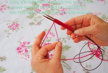 Knitting with long sharp needles calms me. / by Janet Stewart