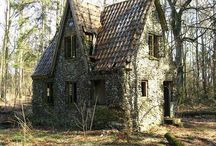 Cottages that are Magical / Small, quaint cottages that foster creative escapes and joyful kinds / by Mary Jo Hiney