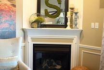 Fireplace ideas  / by Holly Sills