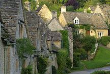 Cotswolds, England / This area of limestone hills is picture-postcard England at its most enchanting. Explore villages made of honey-coloured stone, sip pints in ancient pubs and see some of Britain's most beautifully preserved churches. / by Love GREAT Britain