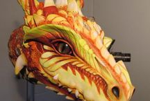 Dragons & mythical animals / dragons, mystical animals and persons / by Blanka Prskavcová