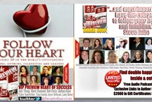FOLLOW YOUR HEART book preview of HEART OF SUCCESS HITS STANDS JUNE 2014 / by Joyce Schwarz