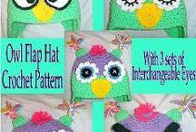 Crocheted Hats / by Sharon Santorum