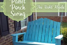 Stuff to make with pallets / by Pam Goldbach