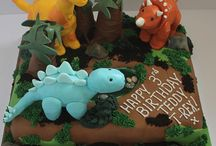 Dinosaur birthday party / by Elizabeth Colbert