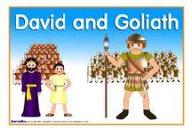 church - bible - David/Goliath / by gayla aitken