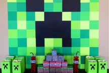minecraft party / by Lisa Bates