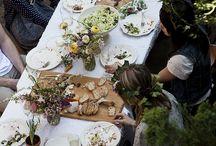 Preparazioni tavola / Pranzi-cene-aperitivi / by Nadia Fratter