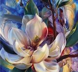 Art by Vie Dunn Harr / Floral Paintings / by Nell K.