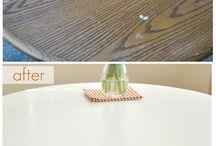 Furniture refinishing / by Cinnamon Steinhardt