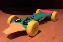 Movie/TV inspired Pinewood Derby cars / by Boys' Life magazine