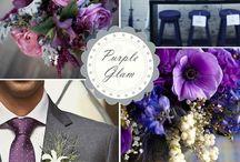 Purple & Grey Wedding / by The American Wedding