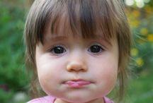 cute Baby / ᙅ⋒ʇᙓ - ʎqɐq / by Saurav Sharma