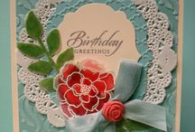 Stampin' Up! Floral Cards / by Be Creative With Nicole