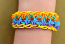 rubber band jewelry / by JW