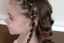 Cute Hair Styles for my girls / by Anjanette (mommayoungathome.com)
