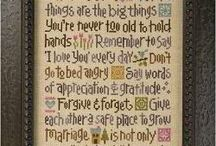 Cross-Stitching / by Debbie Gibson