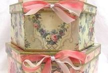 Hat boxes / by Cher Sillinger