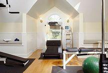 Decorating {Home Gym} / by Katrina {Katrina Dawn Interiors}