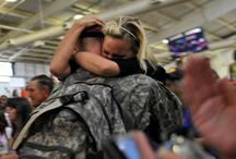 Hello's and Goodbye's / Deployments and reunions.  / by Military.com