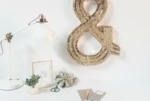 Our Obsessions - August / this month we can't get enough of amazing wall decor!  / by PBteen
